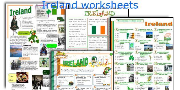 Ireland worksheets