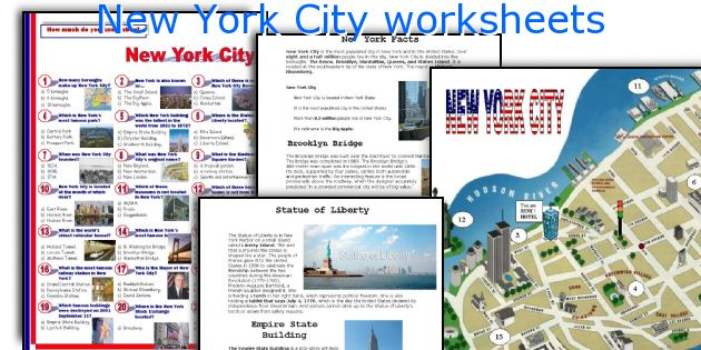 English teaching worksheets new york city for Fun activities for adults in nyc