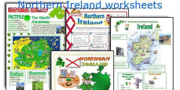 Northern Ireland worksheets
