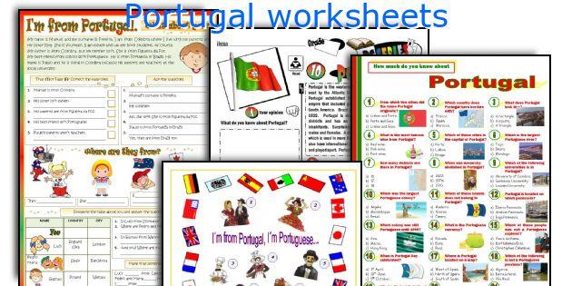 Portugal worksheets
