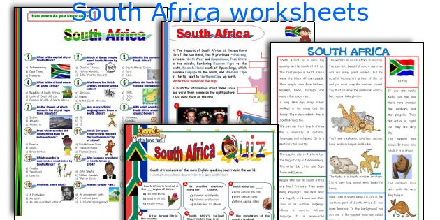 Grade 1 worksheets free printable south africa