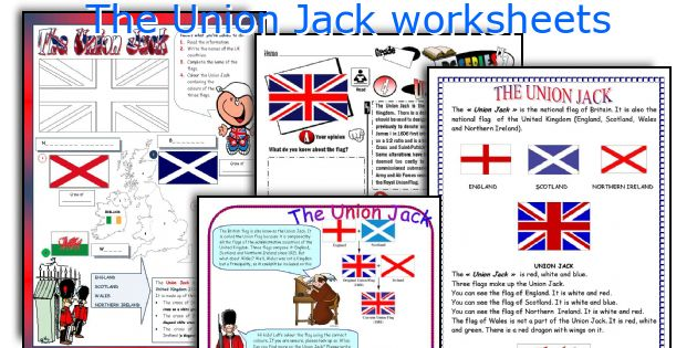 The Union Jack worksheets