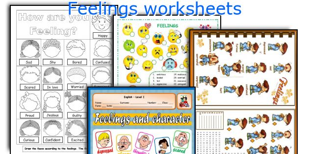English teaching worksheets Feelings – Feelings Worksheets