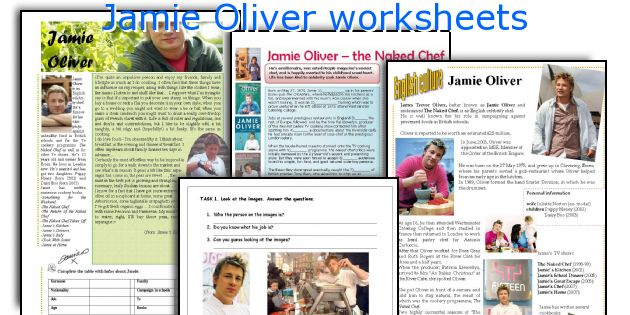 jamie oliver teach every child about food worksheet