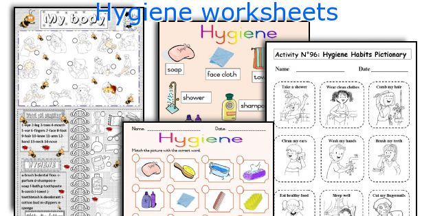 Worksheets Personal Grooming Worksheets english teaching worksheets hygiene