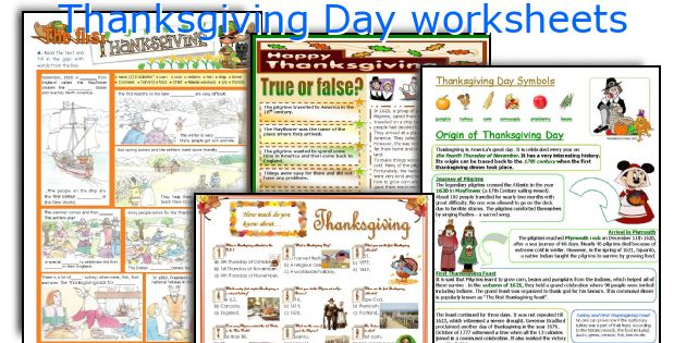 english teaching worksheets thanksgiving day. Black Bedroom Furniture Sets. Home Design Ideas