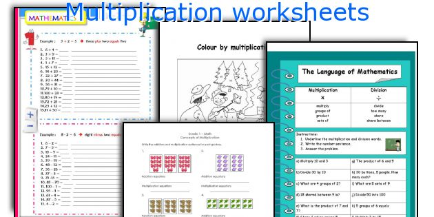 Multiplication Worksheets beginners multiplication worksheets – Multiplication for Beginners Worksheets