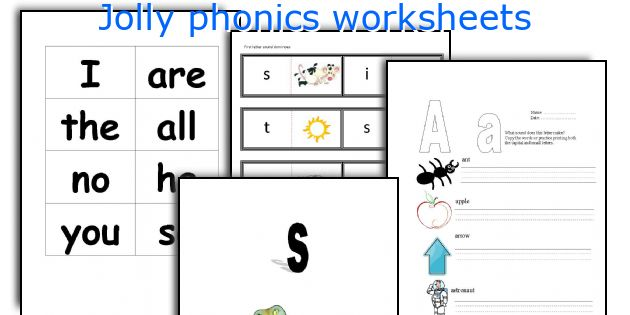 English Teaching Worksheets Jolly Phonics