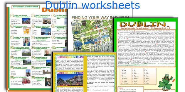 Dublin worksheets