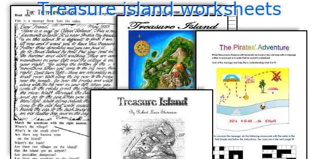 English teaching worksheets Treasure island – Treasure Island Worksheets
