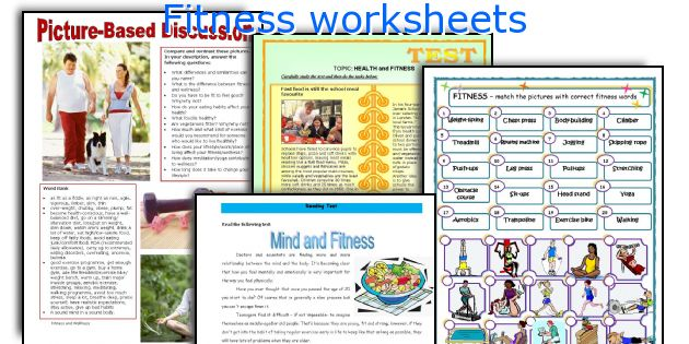 fitness worksheets for highschool students english teaching worksheets fitnesshow to set. Black Bedroom Furniture Sets. Home Design Ideas