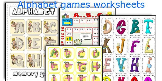 Alphabet teaching worksheets