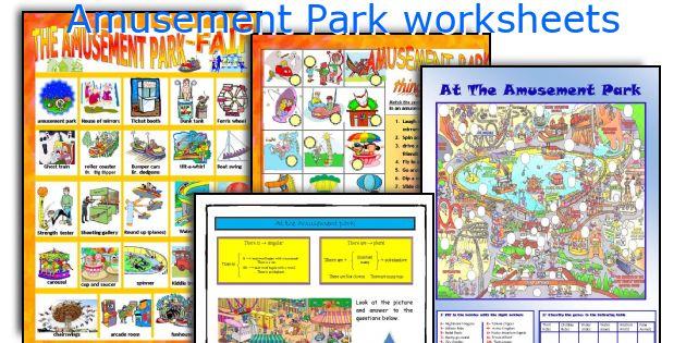 Amusement Park worksheets