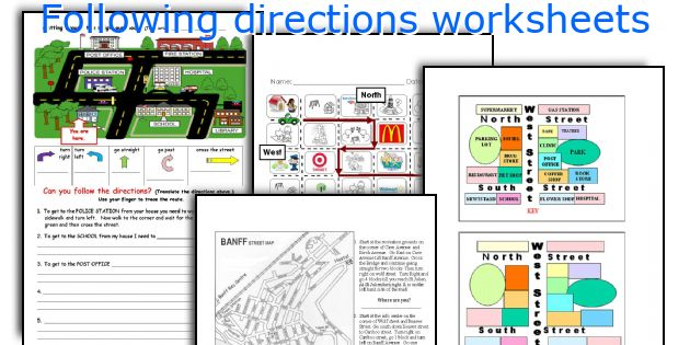 Following directions lesson plans for 2nd grade