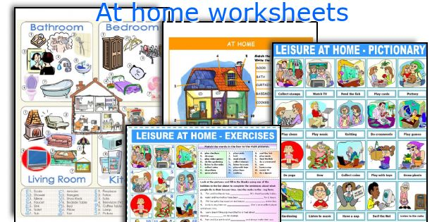 At home worksheets