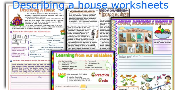 All Worksheets Esl House Vocabulary Worksheets