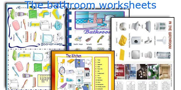 The bathroom worksheets