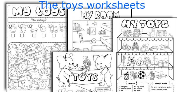 The Toys Worksheets. Worksheet. Toys Worksheet Year 1 At Mspartners.co