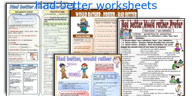 Had better worksheets