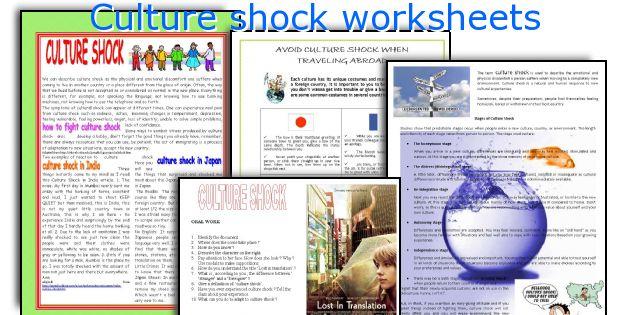 Culture shock essay esl
