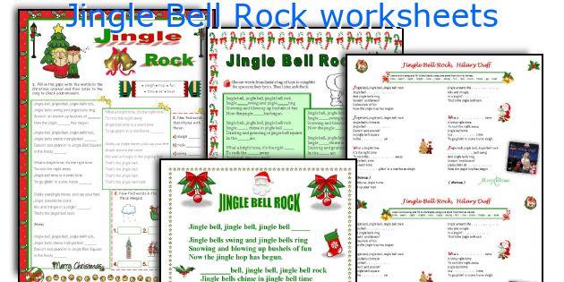 Jingle Bell Rock Worksheets. Worksheet. Rock Worksheets At Mspartners.co
