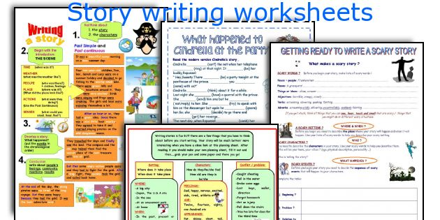 Story Writing Worksheets